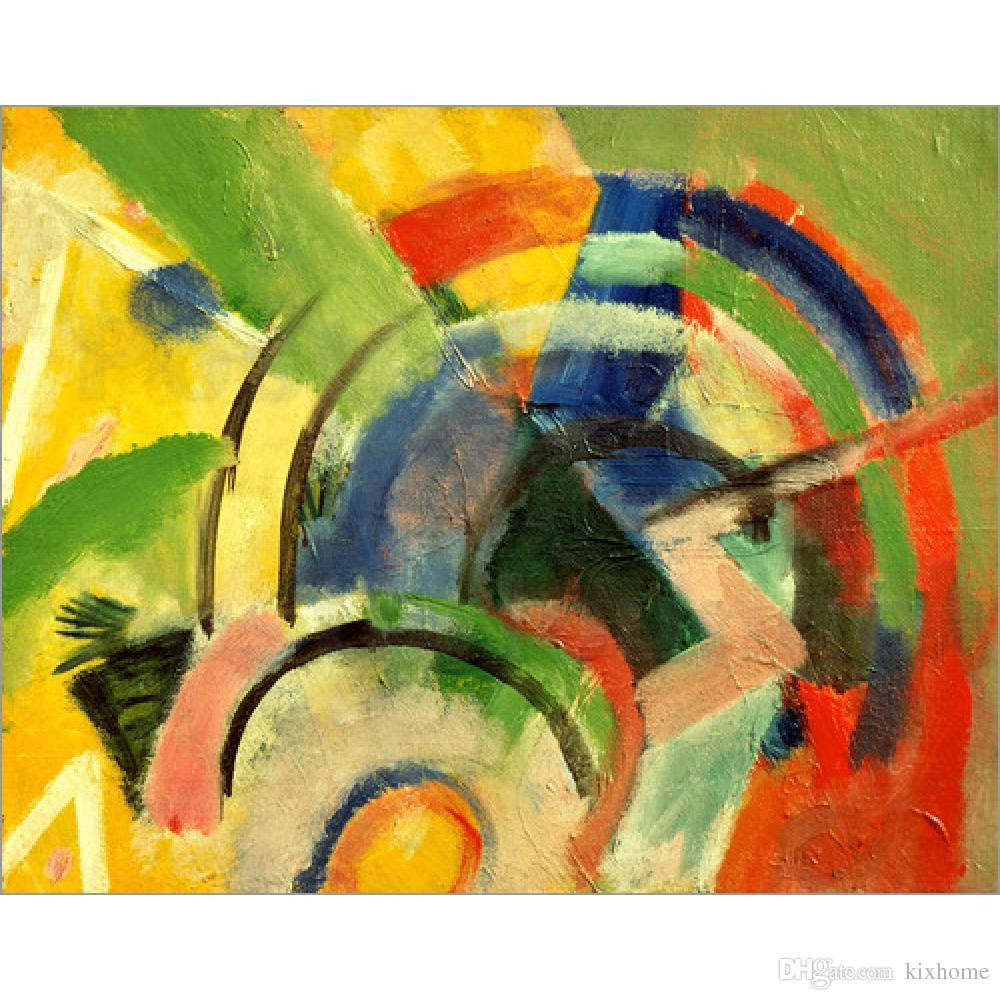 2018 Franz Marc Paintings Small Composition Iv Abstract Modern Art ...