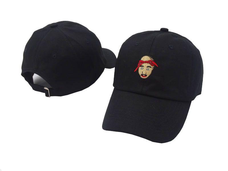 1f17b9e091707 Tupac Shakur Baseball Cap Strapback Retro Easy Hat All Eyes On Me Dad Hip  Hop Hats 6 Panel Caps Bone Swag Golf Casquette Hat Beanies From Fufu852