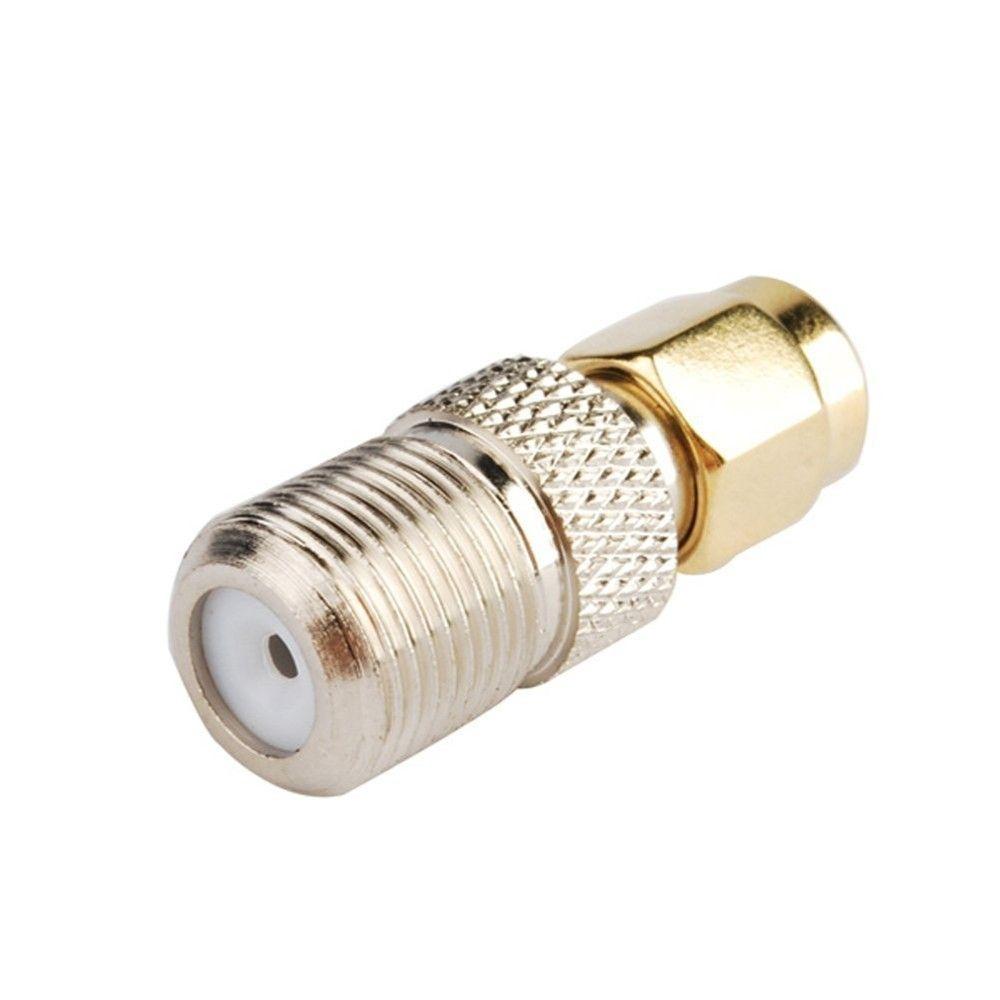 50Pcs \ Lot Freeshipping F أنثى إلى ذكر SMA التوصيل RF محول موصل محوري المعدات الكهربائية
