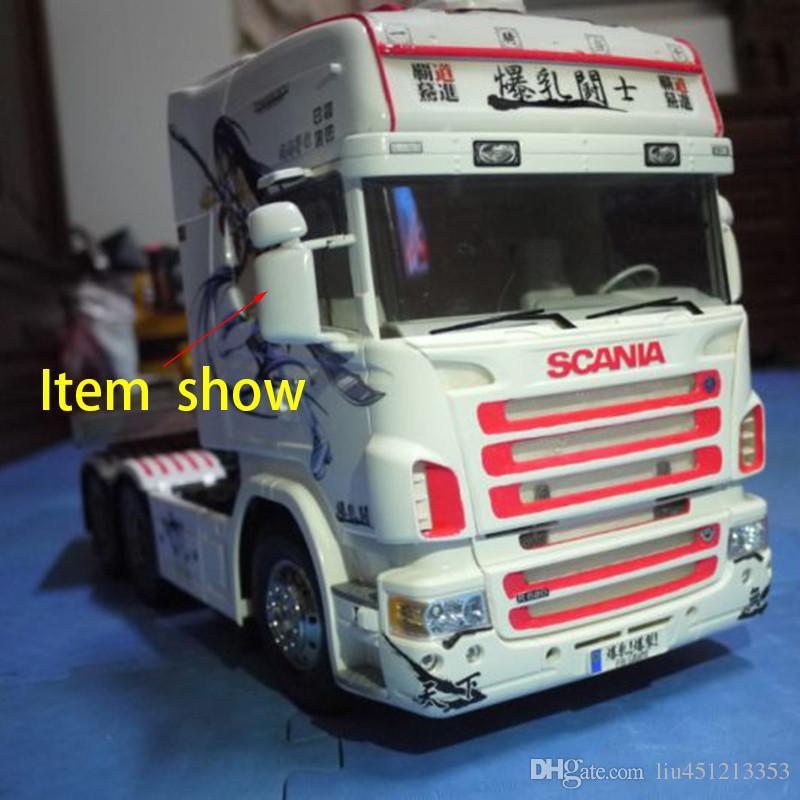1/14 rc auto Tamiya Zubehör Tamiya Stan Traktoren Rückspiegel Rückspiegel Virginia Für SCANIA R620 R470 RC Auto