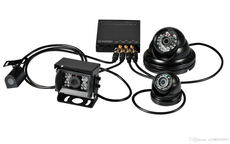 2019 Hdvr8045 4ch 1080p Hdd Car Mobile Dvr Card G Sensor