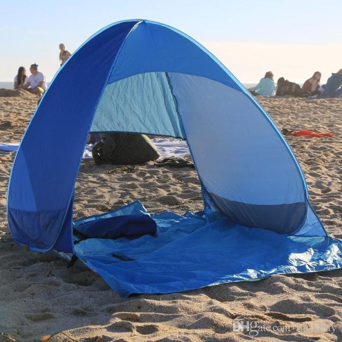 Premium Free Set Up Velocidade Automática Barraca de Acampamento Aberto Ao Ar Livre Praia Sombra Família Portátil Tenda De Acampamento Ao Ar Livre À Prova D 'Água Tenda atacado