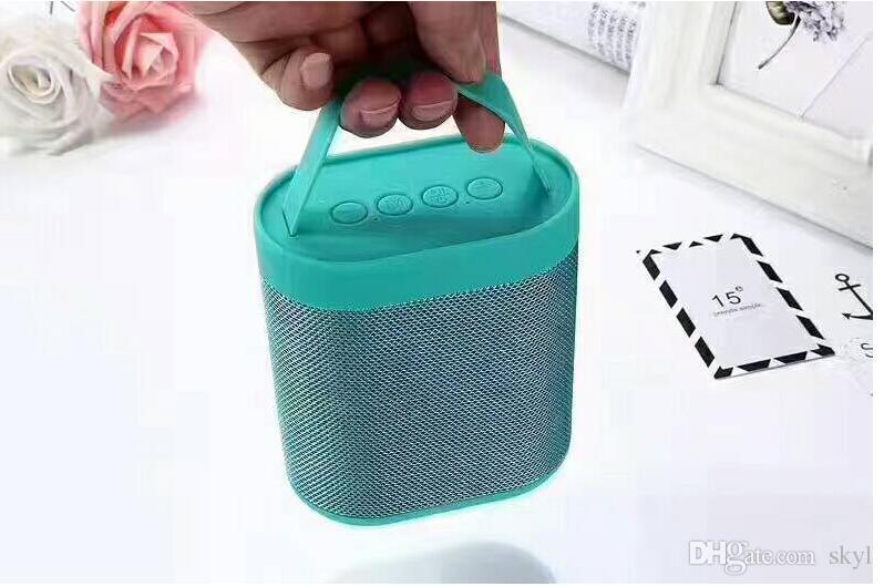 Newest J43 Mini Wireless Bluetooth Speaker Portable Plastic & Cloth Net Audio Sound Box TF USB Mp3 Music Player Top Quality Factory Direct
