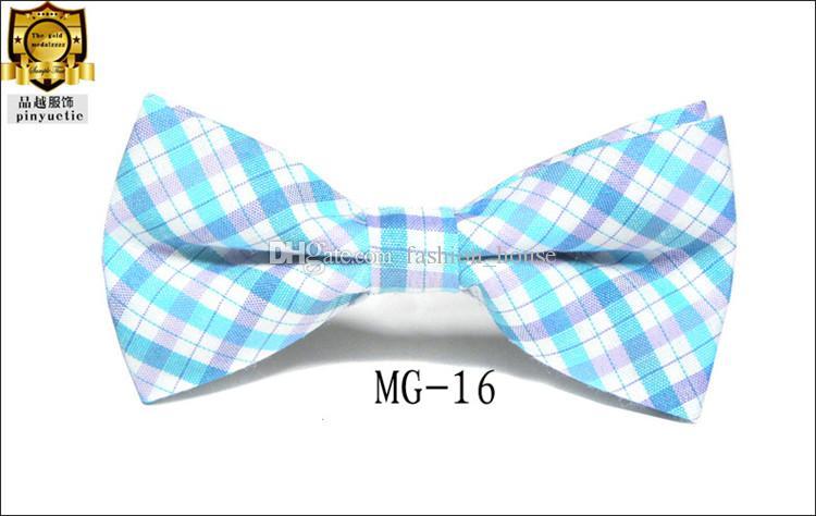 Kinder Baby Mädchen Jungen 16 Farbe Reiner Baumwolle Formale Smoking Bowtie Fliege Kinder Gedruckt Hochzeit Krawatte Freies Verschiffen L001