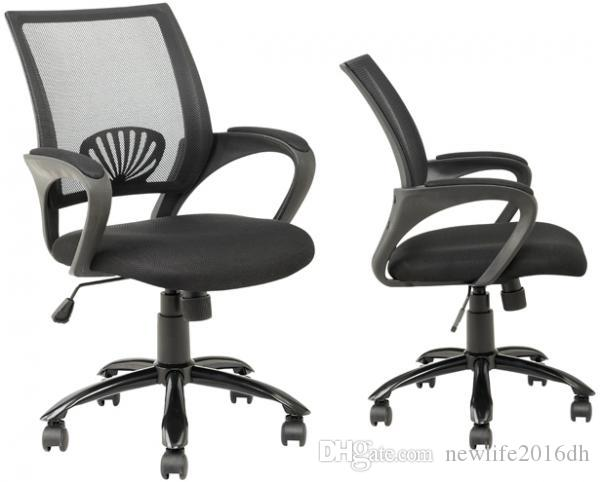 Ergonomia Scrivania Ufficio : Acquista sedia da ufficio ergonomica in rete nera computer con