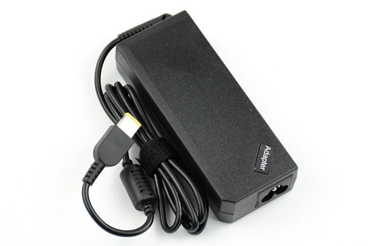 Ноутбук высокого качества AC адаптер 20V 4.5A 90W Желтый прямоугольник Совет с Pin для Lenovo