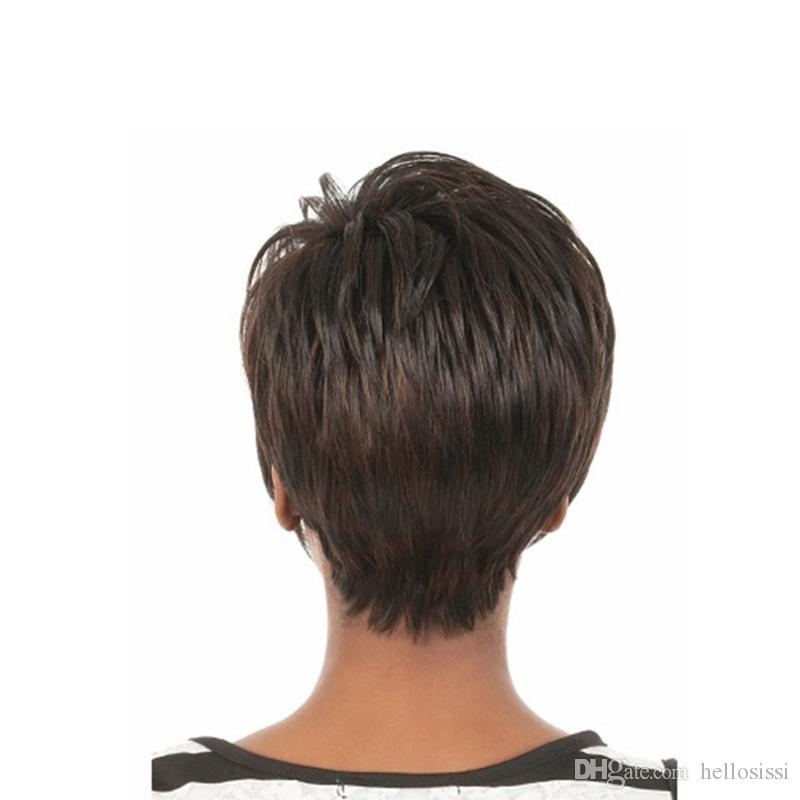 Black Women For Brazilian Short Bob Human Hair Wigs 130 Density Lace Front Wigs Natural Wavy Glueless Full Lace Wigs With Baby Hair