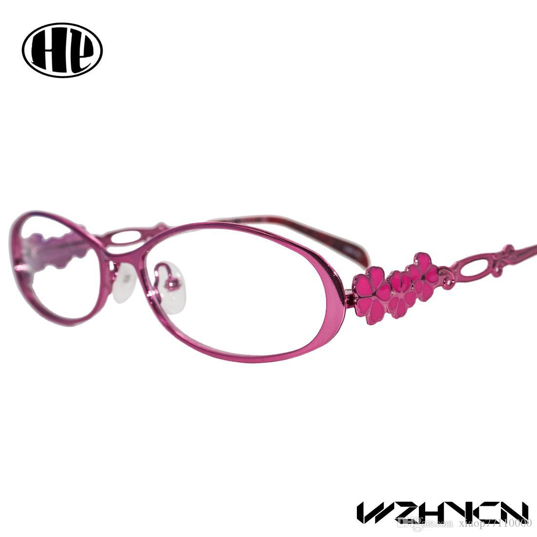 2017 Retro Women Glasses Frame Clear Lens Oculos De Grau Alloy ...