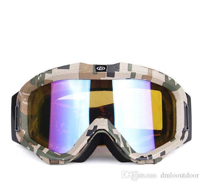 66452195a39 New Men Women Ski Goggles Anti Fog Glasses Motorcycle Glasses ...