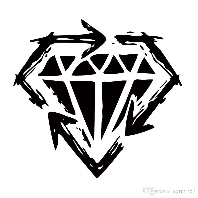 2018 New Product For Stick To Your Guns Diamond Car Truck Decal