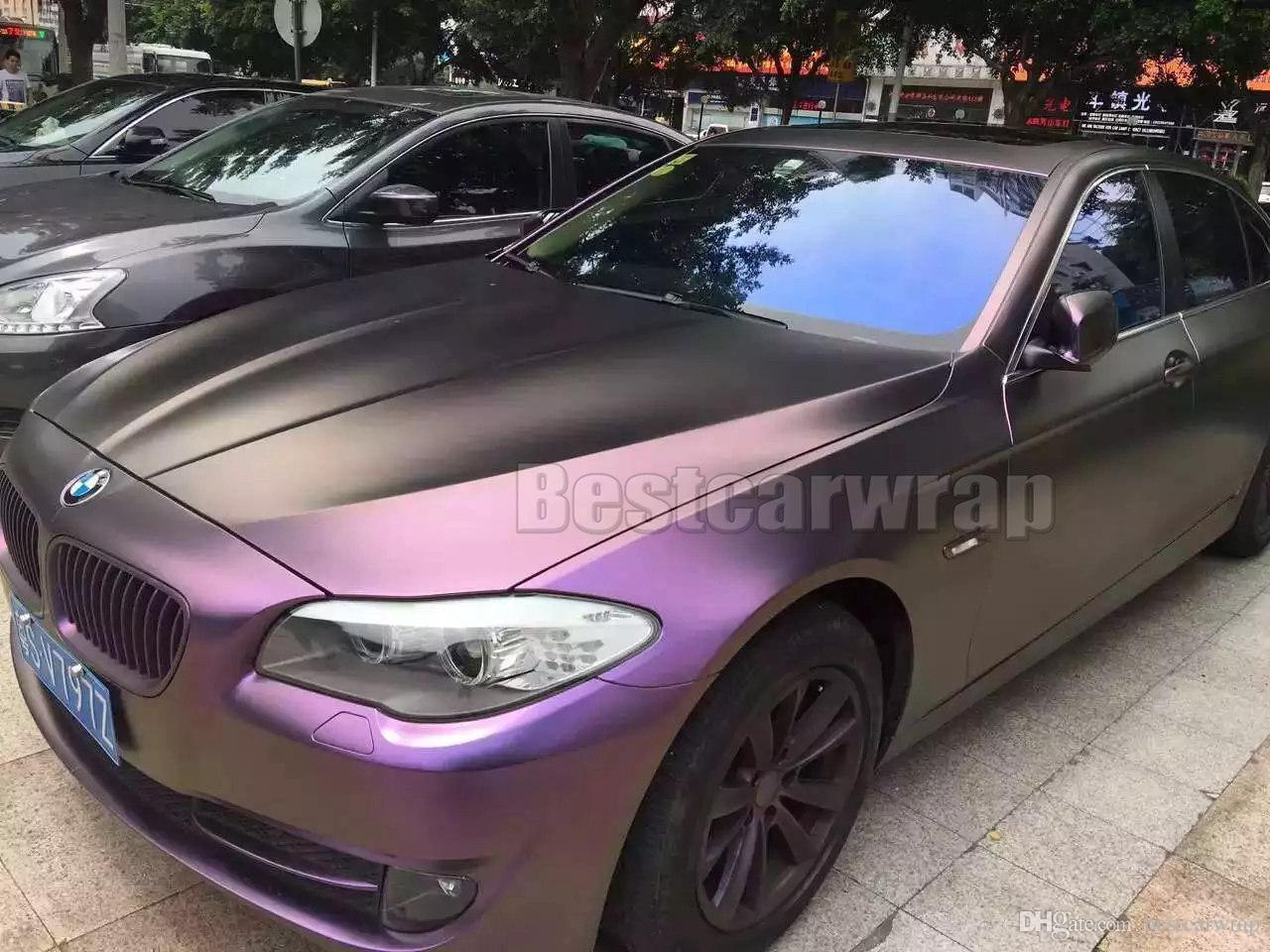 2019 Purple Wine Red Satin SHIFT Chameleon Vinyl Wrap Film With Air Bubble  Free Shiny Flip Flop FOR WHOLE Car Wrap Covering Skin 1.52 20M Roll From ... 98a7905c81b0