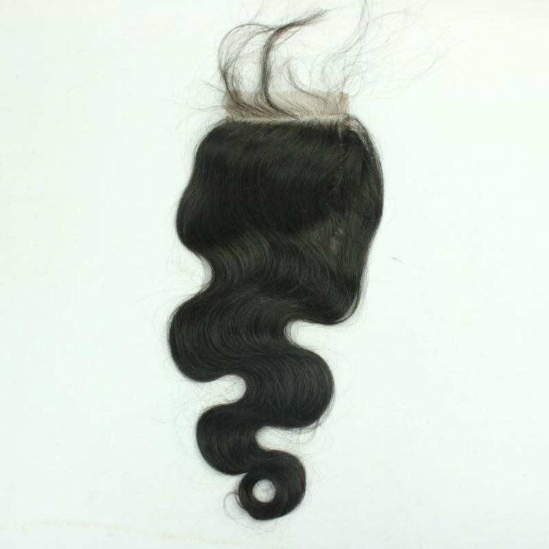 Lace Closure Bleach Knots,3 way part middle part Closure,Cheap Lace Front Brazilian human Hair Straight/Kinky Curly/Body Wave Closure