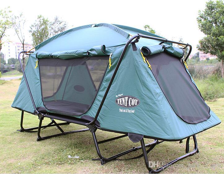 Off Ground Free Built Outdoor C&ing Tents for Outdoor Huntingfishing And Marching Automatic Opening Easy Carry Outdoor C&ing Tents Online with ... & Off Ground Free Built Outdoor Camping Tents for Outdoor Hunting ...