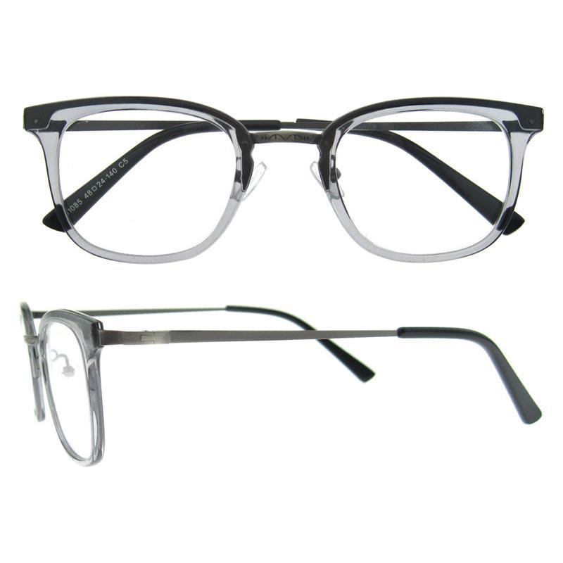 Compre 2017 Nueva Llegada Gafas De Miopía Diseñador Marca Gris Negro ...