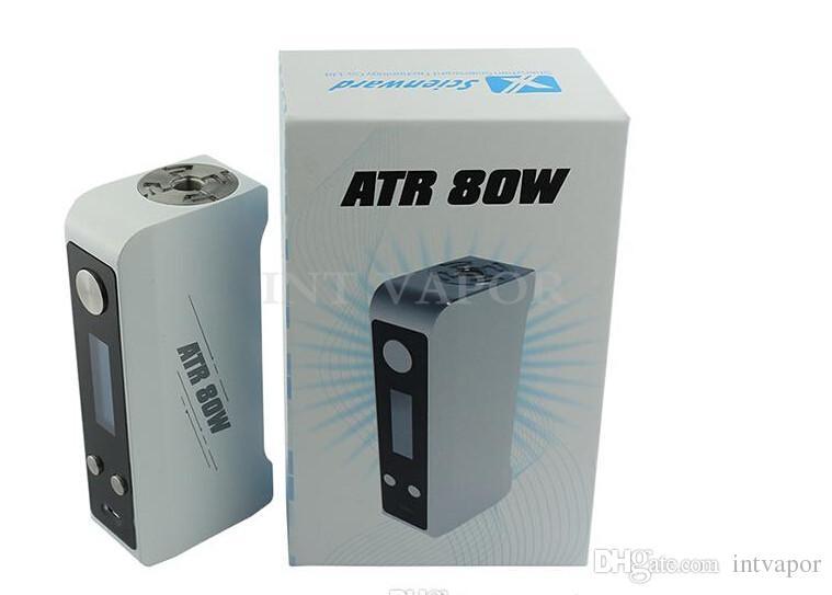100% оригинальный температурный регулятор subbox Огромный Vapor Box Mod 80 Вт с переменным током Waltage fit ATR1 Распылитель -03