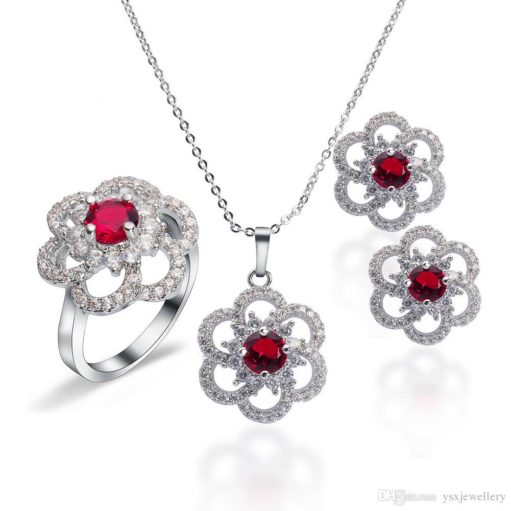 2019 New Fashion Jewelry Beauty Accessories Flower Shape