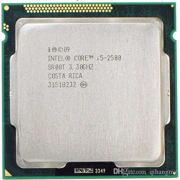 4x 3.30ghz Intel Core i5-2500 sr00t CPU Socket 1155 #32777