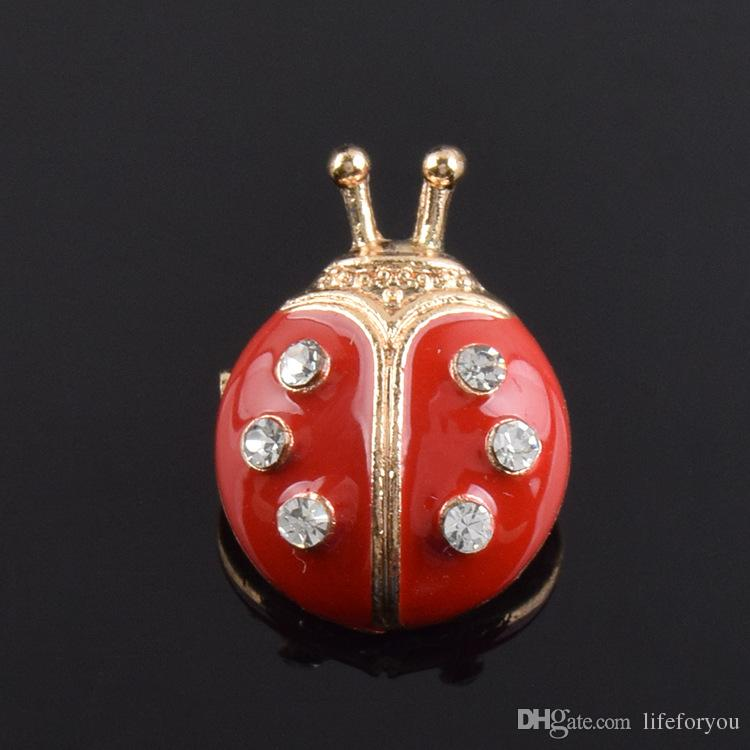 12-Pack beatles jóias broches baratos pinos broches de moda broche de ouro para presentes de casamento para broche de hóspedes favores do partido de casamento
