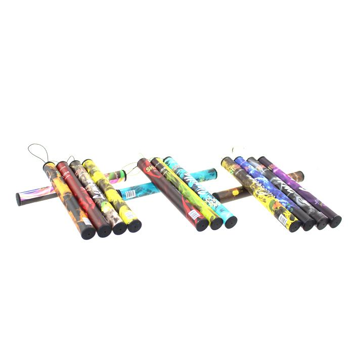 ShiSha Time E Narghilè 500 Puffs Pipe Pen Sigaretta elettronica Stick Sticks Shisha Narghilè ecigs monouso Colorful 35 sapori