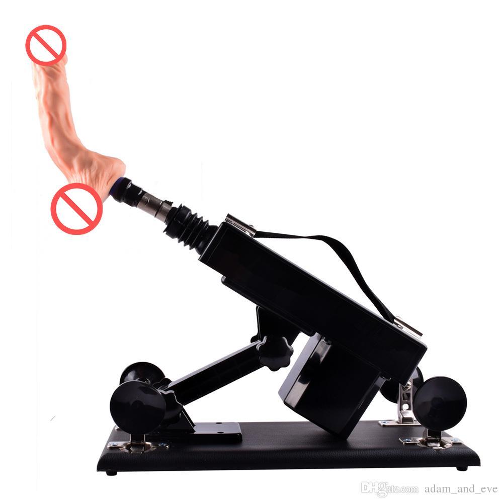 Automatic Masturbator Sex Machine Gun Come with Male Masturbation Cup and Realistic Dildo Powerful Sex Machines Sex Toys