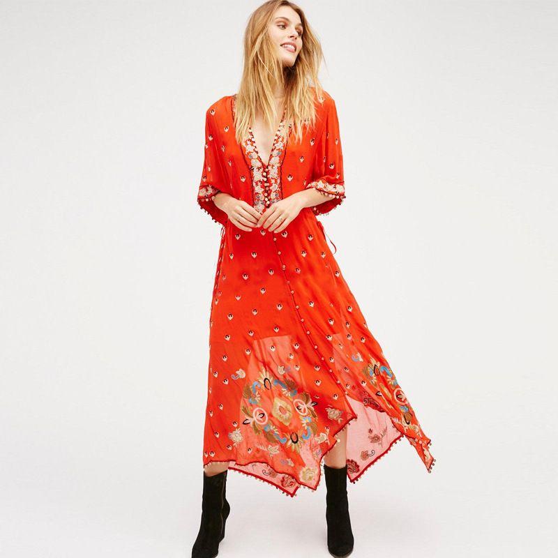 Plus Size Women Clothing Beach Dresses The Goddess Van Perspective