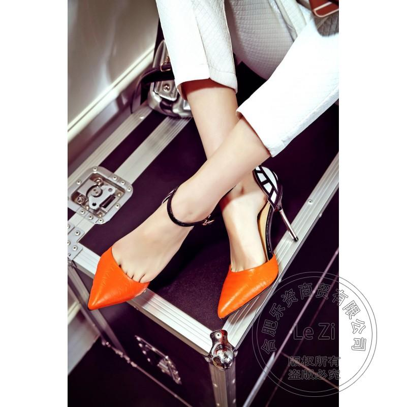 pu cusp spider web slender new arrival stiletto heels casual glamour