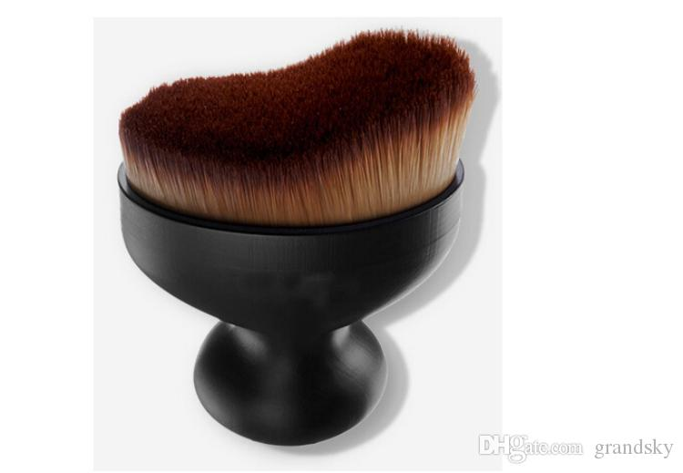 2016 Branded Espoir Pro Tailoring Curved Face Brush Professional Foundation Brush Women Beauty Tools DHL