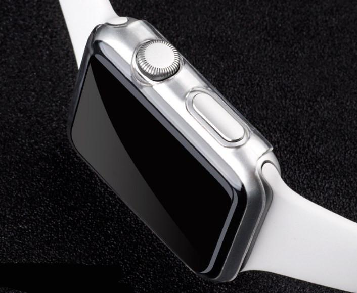 Clear Hard Smart Watch Case Ultra Thin0.5 Full Body for A pple i Watch smart Watch Series 5 4 3 38 40 42 44 MM cover Skin Shell GSZ207