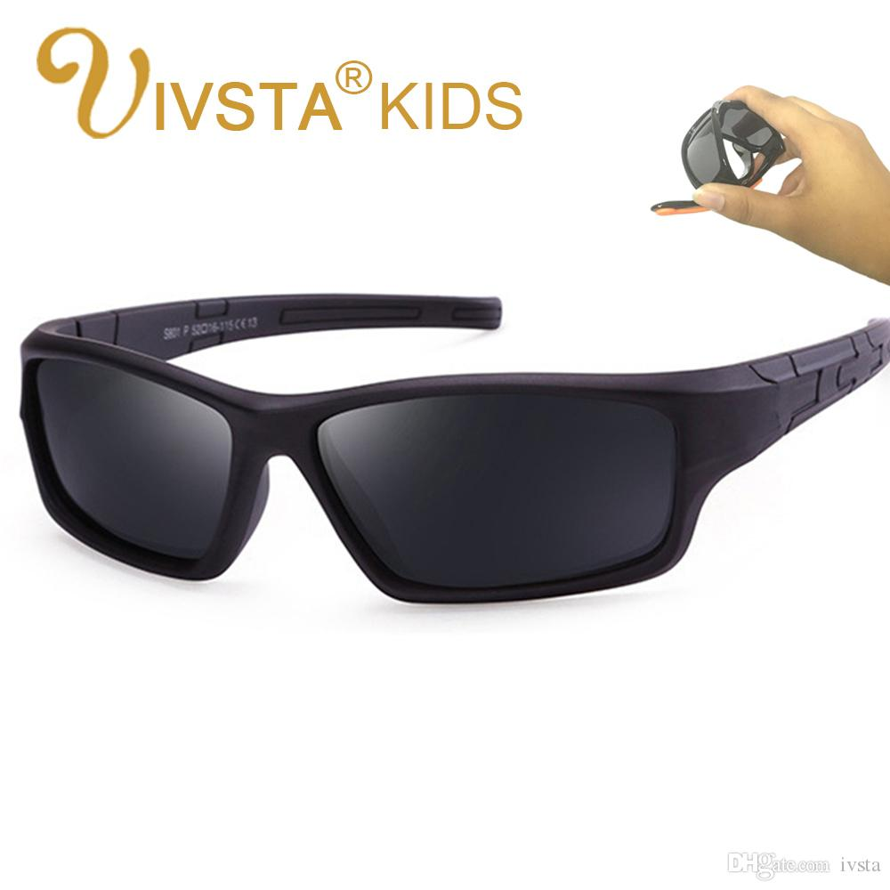 122a59fe4a IVSTA 801 Kids Sunglasses Polarized Lenses Kids Sunglasses Boys Silicone  TR90 Flexible Frame Kids Sports Sunglasses Eyewear Heart Shaped Sunglasses  Mirrored ...