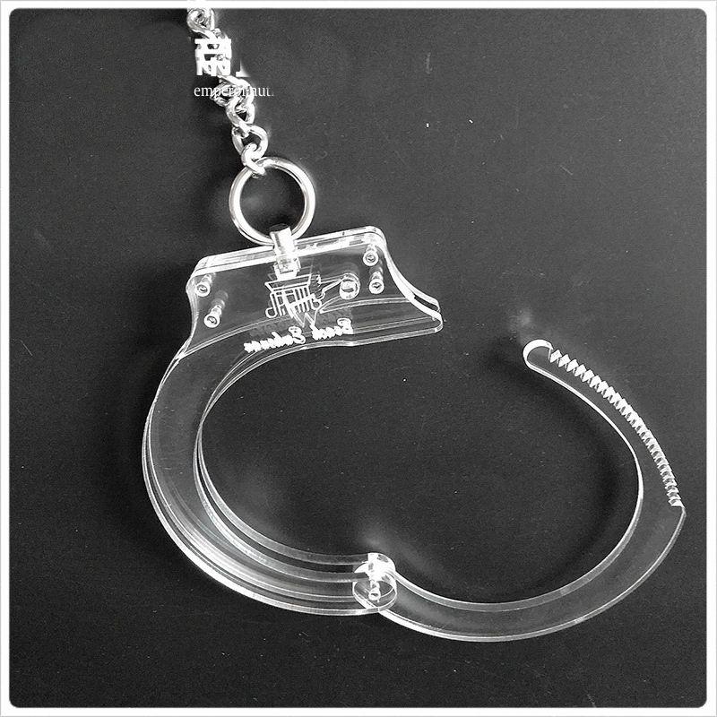 2017 Bdsm Sex Toys Sm Bondage Shackle Polycarbonate Collar Wrist Ankle Handcuffs Cuffs Bound Sex Prisoner Game