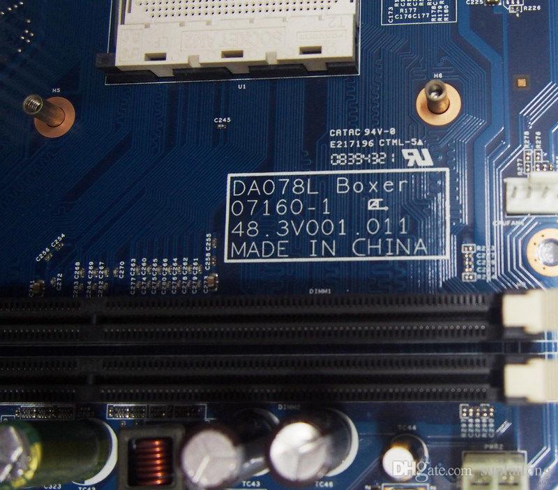 Acer Aspire X1200 Serisi Anakart AMD AM2 Soket DA078L Boksör 07160-1 48.3v001.011