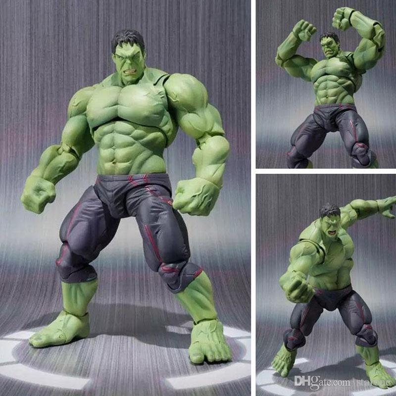 NEW hot 22cm avengers Super hero hulk movable action figure toys Christmas gift doll haoke15 free shipping