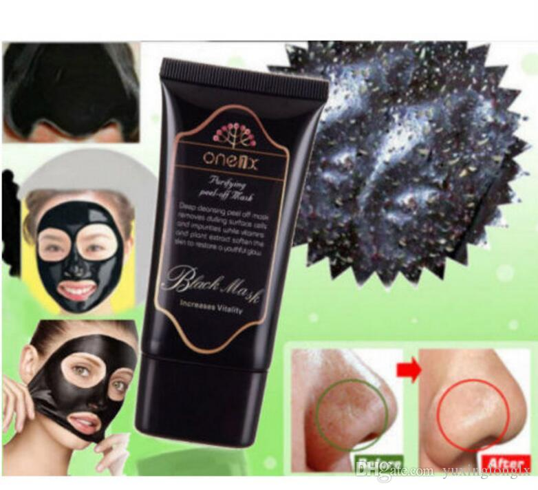 Black Mask Facial Mask Nose Blackhead Remover Peeling Peel Off Black Head Acne Treatments Face Care Suction