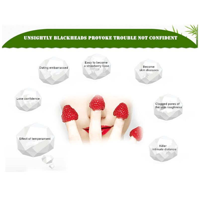DOBERYL Siyah Nokta Maske Cilt Bakımı Yüz Siyah Nokta Remover Burun Akne Tedavisi Derin Temizlik Mineral Çamur EX Gözenek Şeritleri Temizleyici 6g 0611033