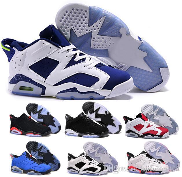 low priced e5aa6 a7c6f Compre Barato 6 Bajo Zapatos De Baloncesto Hombres Mujeres Negro 6s Vi  Invierno Femme Homme Marca Sport Sneakers Tamaño 5.5 13 A  52.77 Del  Lajianing1106 ...