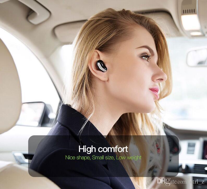 Dacom K007 k8 mono small single earbuds hidden invisible micro mini wireless headset bluetooth earphone headphone for phone