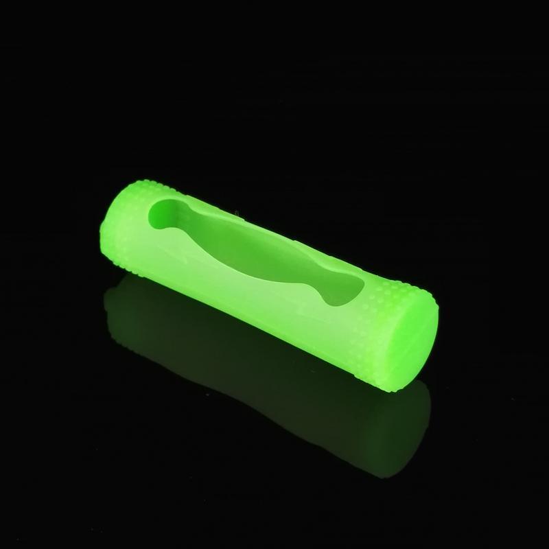 18650 Pil Kapağı Silikon Kılıf Kabuk E-sigara Yumuşak Kauçuk Koruyucu Wrap Koruyucu Elektronik Sigara E Çiğ 18650 Piller Için DHL