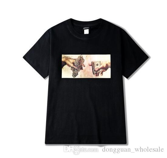 9acb76d9 Hemp Dollar Bills Punk Tee Men Hip Hop Street Popular Shirts T HEYBIG  Vintage Print Gangsta Black Market Shirt Asian SIZE Shirts Online T Shirt  Creator From ...