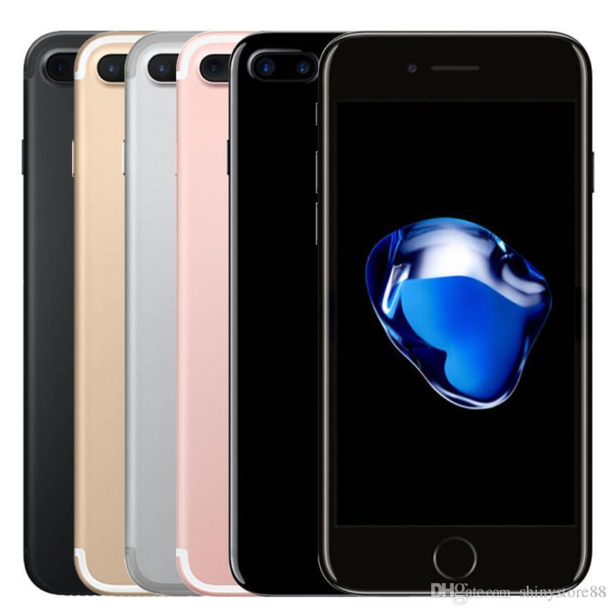 Original apple iphone 7 7 plus com touch id 32 gb 128 gb ios10 quad core 12.0mp recondicionado desbloqueado telefone
