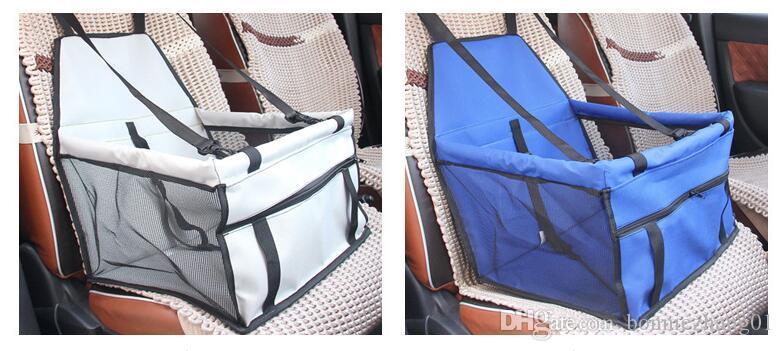 مقعد للماء أكسفورد القماش كلب السيارات السفر حصيرة للطي قابل للغسل الأرجوحة السيارة غطاء وسادة مع حزام