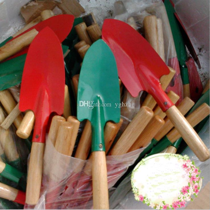 Wholesale gardening tools, wooden handle shovels, flowers and weeding small shovels, small shovels,