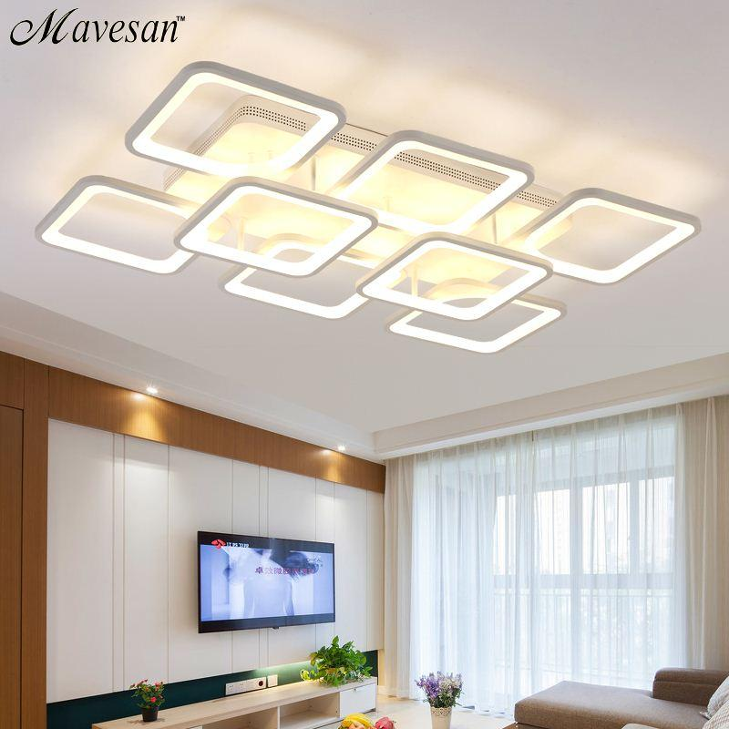 2017 Remote Control Living Room Restaurant Indoor Light Led Ceiling Lights Luminarias Para Sala Dimming From Goods520 3237