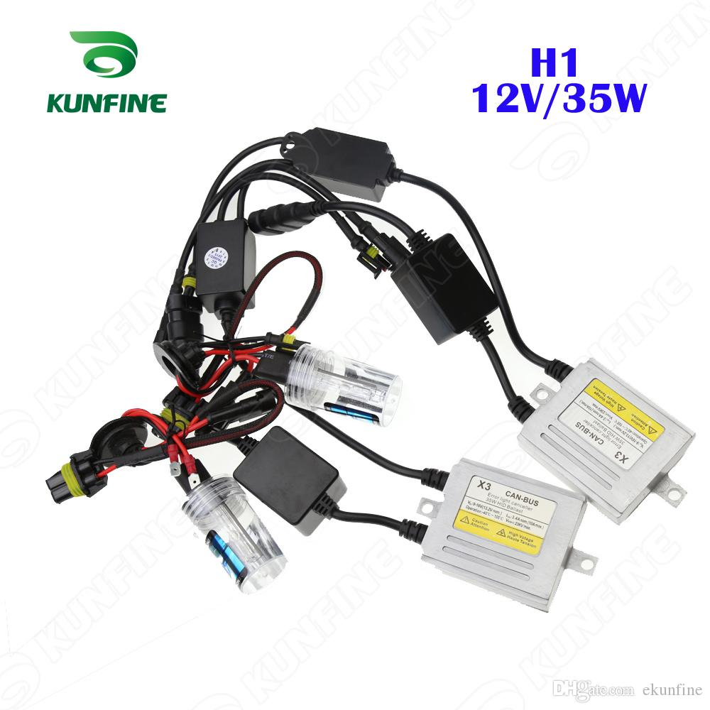 X3 Canbus Hid Conversion Xenon Kit 12v 35w H1 Bulb Car Wiring Diagram Headlight With Slim Ac Ballast For Vehicle