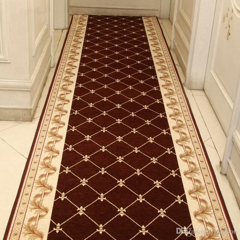 Popular Corridor Carpet Aisle Full House To Use Slippery Red Carpet Porch  BI13