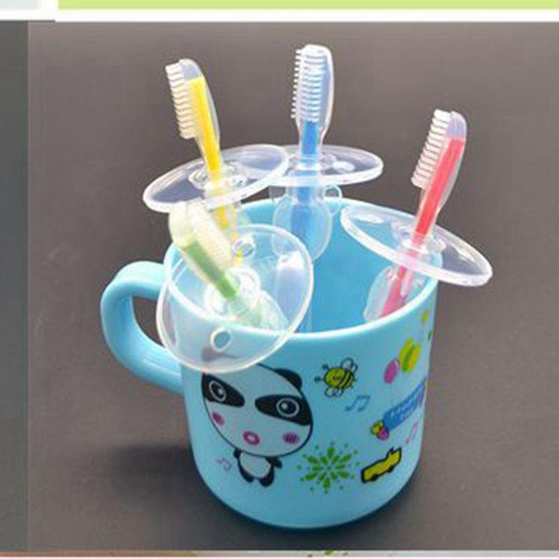 Dents silicone enfants bébé Teether Brosse à dents brosse à dents à feuilles caduques Infant de formation en environnement dentaire Oral Care pour bébés Hot vente
