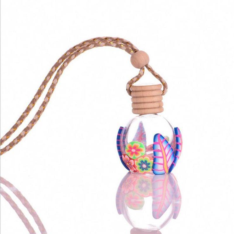 10 ml auto ornamente hängen auto parfüm flaschen, leere flasche anhänger autozubehör schnelles verschiffen