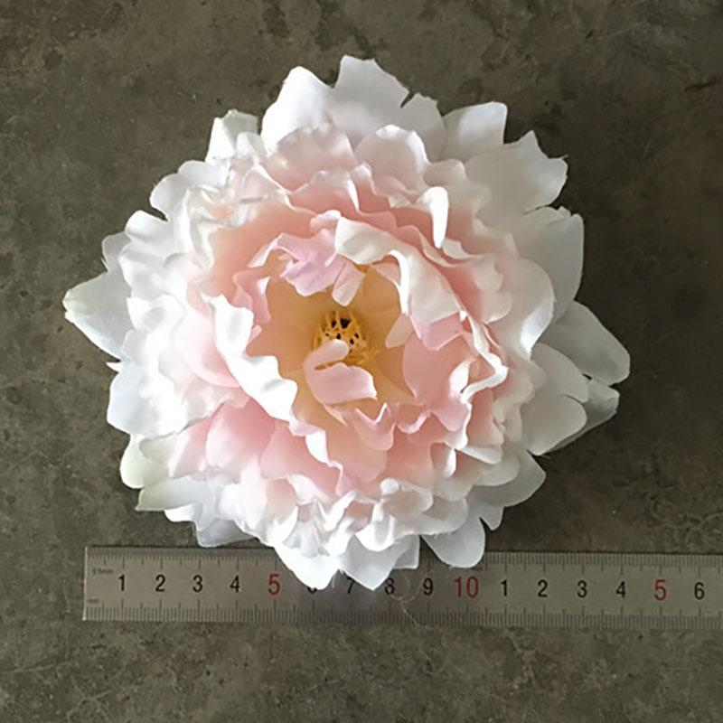 DIY 15 cm Yapay Çiçekler İpek Şakayık Çiçek Başları Düğün Dekorasyon Malzemeleri Simülasyon Sahte Çiçek Baş Ev Dekorasyonu WX-C03