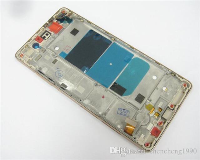 ل Huawei Ascend P8 Lite كامل LCD شاشة تعمل باللمس محول الأرقام مع الإطار