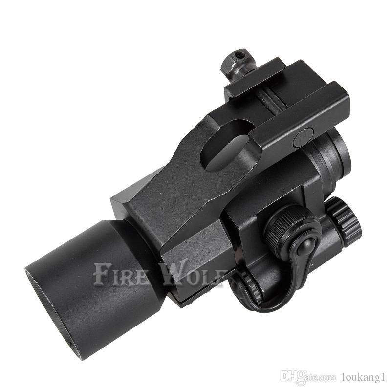 Feuer WOLF Red Green Dot Zielfernrohre 32mm M2 Zielfernrohr Tactical Laser Gun Sight für Picatinny Schiene gewehr