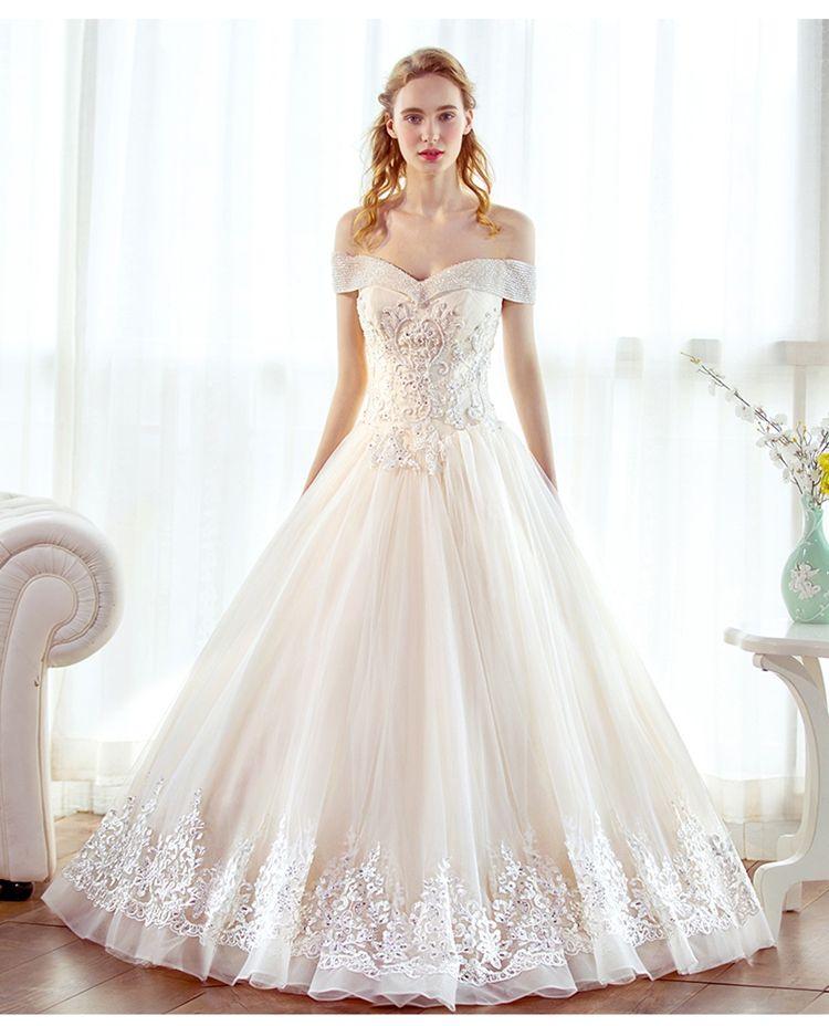 Discount Sweetheart A Line Wedding Dresses Vintage Elegant